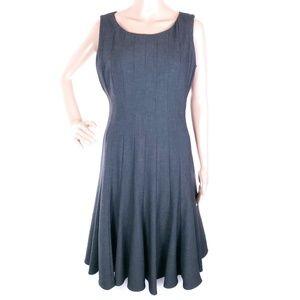 Calvin Klein Dress A-line Sleeveless Zip Back